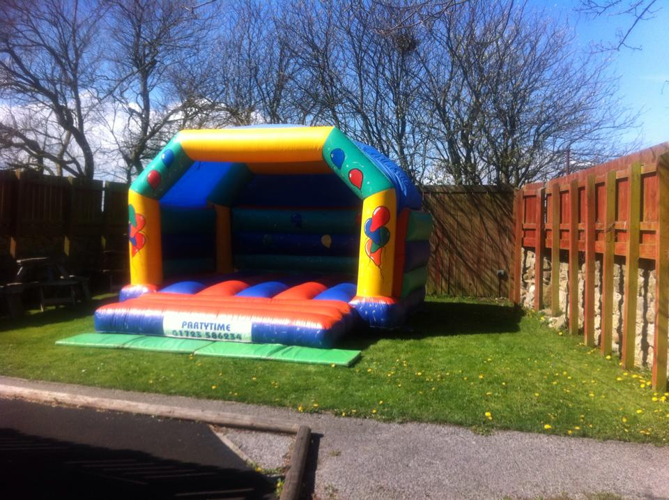 Partytime Bouncy Castle hire for a great Children's Party