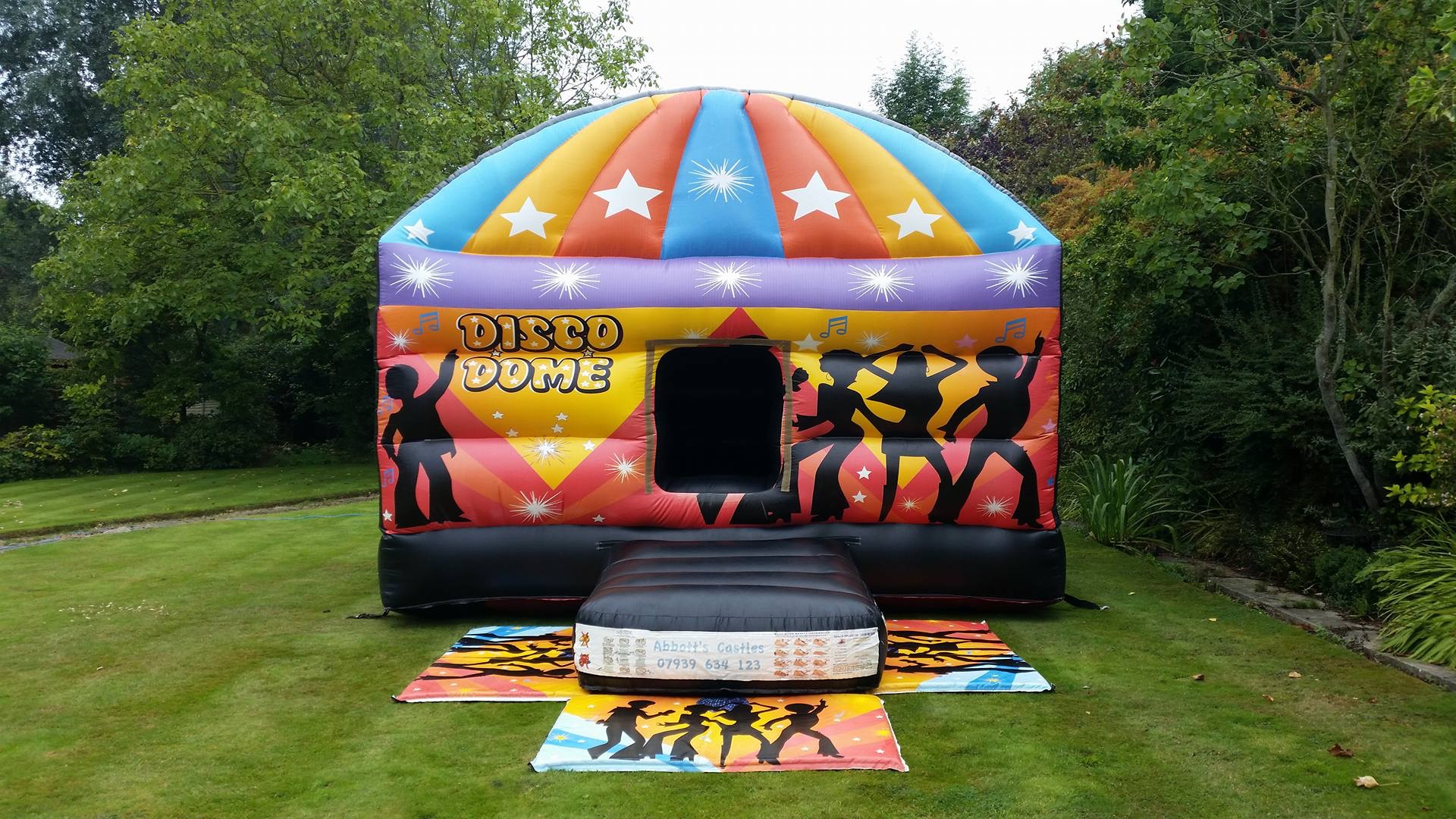 Bring back some 70's Dance in the Disco Dome! Hire from £80!