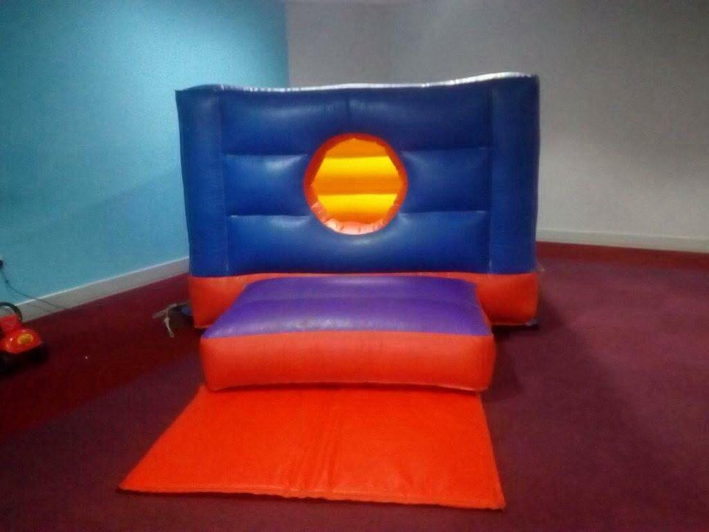Indoor Bouncy castle hire from £40. A great party to be had!